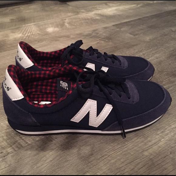 New Balance U410 NavyBlueRed Shoes
